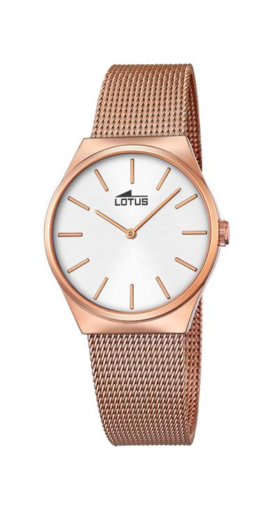 Lotus ladies rose gold The Couples watch – 18289/1