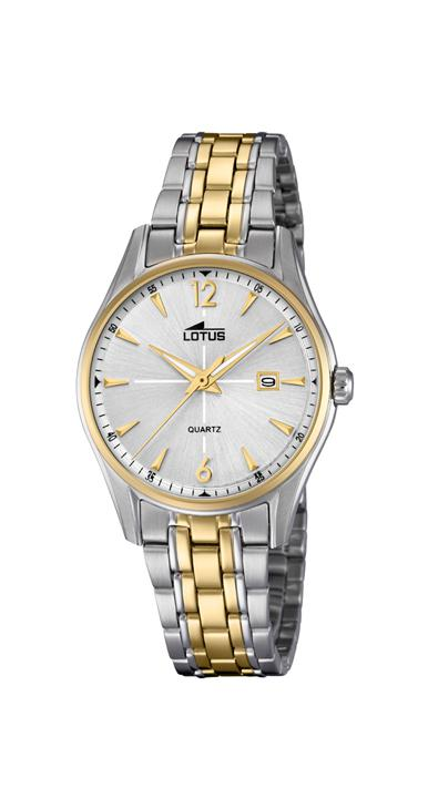 Lotus ladies silver & gold Classic watch – 18378/1
